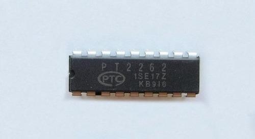 codificador encoder pt2262 y decodificador decoder pt2272 ir