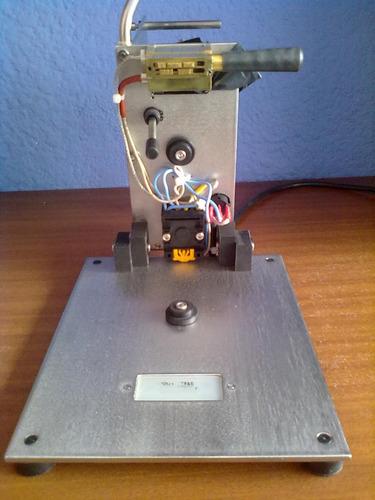 codificadora, loteadora, fechadora manual acero inox