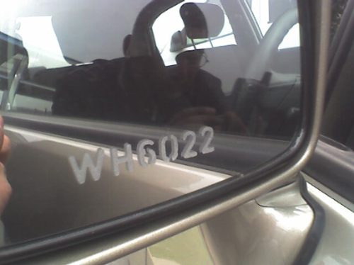 codifique su vehículo con la patente en vidrios a cuarzo!!!