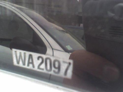 codifique su vehículo con la patente en vidrios en  cuarzo