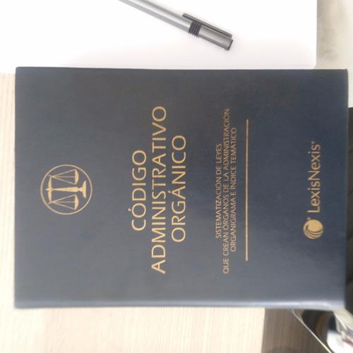 código administrativo orgánico