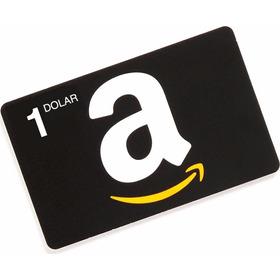 Codigo Amazon Gift Card De 1 Dolar Para Compras En U.s.a.