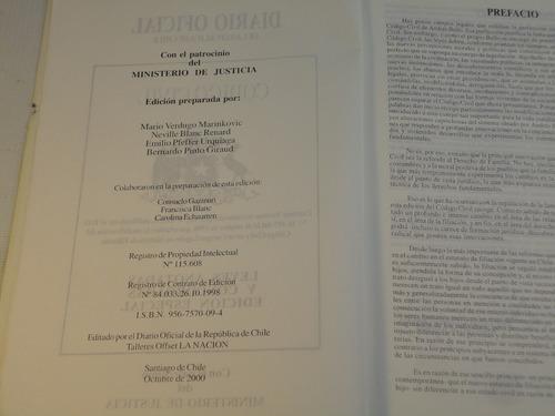 codigo civil chile septiembre 2000