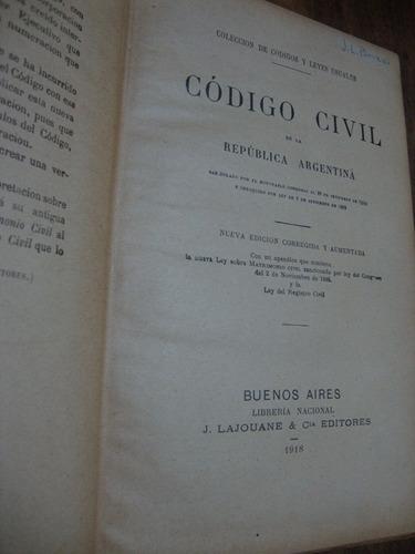 codigo civil de la republica argentina.