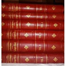 Código Civil Dos Estados Unidos Do Brasil 6 Volumes Clovis B