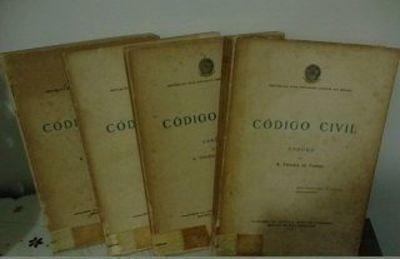 código civil - esboço - 4 volumes a. teixeira de freitas