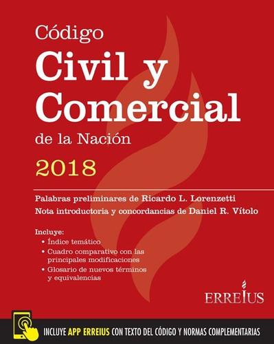 código civil y comercial de la nación 2018 - formato rustico