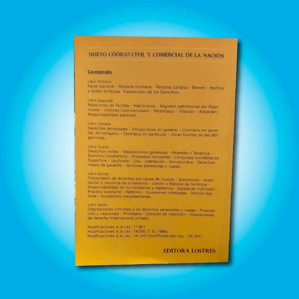 Código Civil Y Comercial Ley 26994 - $ 495,00 en Mercado Libre
