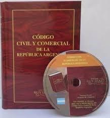 codigo civil y comercial r. argentina  + cd nuevo  ruy diaz