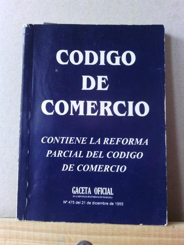 código de comercio, libro físico, leyes