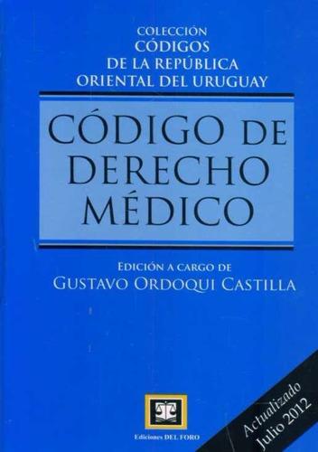 codigo de derecho medico