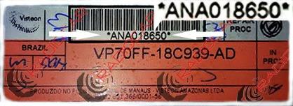 código de desbloqueio do rádio fiat connect siena c/garantia