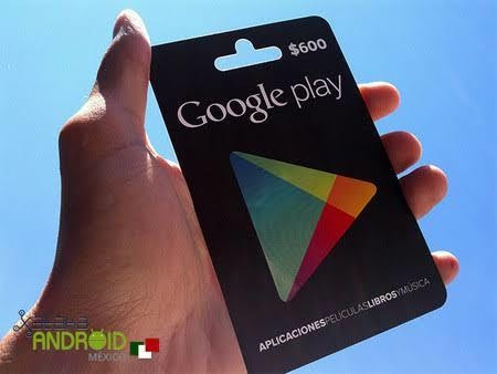 código de google play (600)
