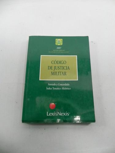 codigo de justicia militar 2007 chile
