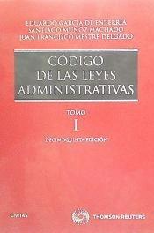 código de las leyes administrativas(libro derecho administra