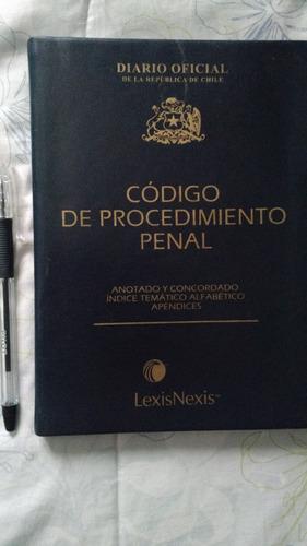 código de procedimiento penal. 3ra edición 2003. derecho
