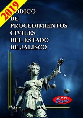 código de procedimientos civiles del estado de jalisco 2019