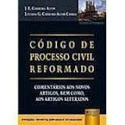 código de processo civil reformado j. e. carreira alvim