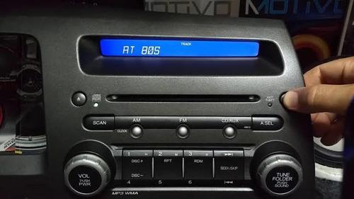 código de rádio honda no mesmo dia todos os modelos