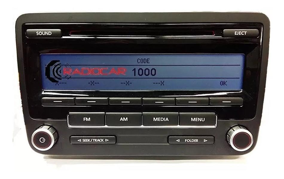 VW RCD 300 código de radio en minutos
