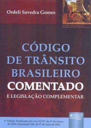 código de trânsito brasileiro comentado