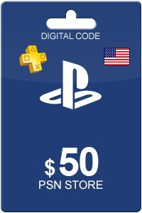 codigo digital prepago $50usd. para psn plus cuenta usa.