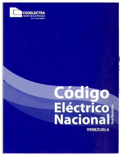 código eléctrico venezolano vigente 2009 (permite copiar)