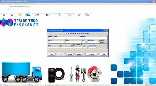 código fonte ares controle de frotas de veículos delphi xe