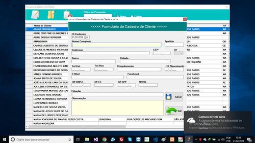 código fonte cadastro de clientes vb.net completo!!