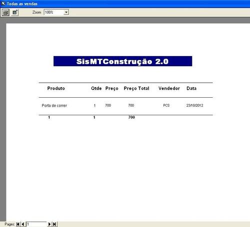 código fonte de sistema para loja d materiais de construção