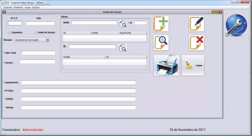 código fonte - sistema ordem de serviço + monografia - tcc