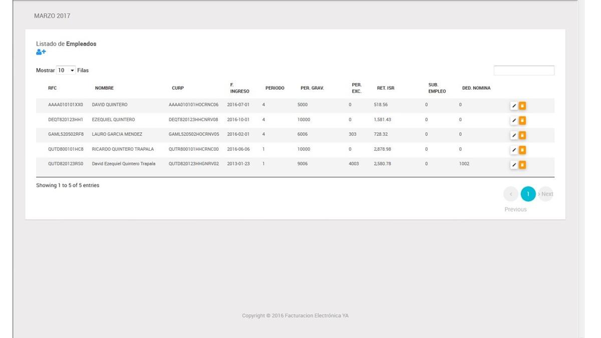 código fuente php mysql nomina 1 2 cfdi 3 3 4 000 00 en mercado