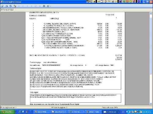 codigo fuente sistema facturacion electronica 3.3 csharp.net