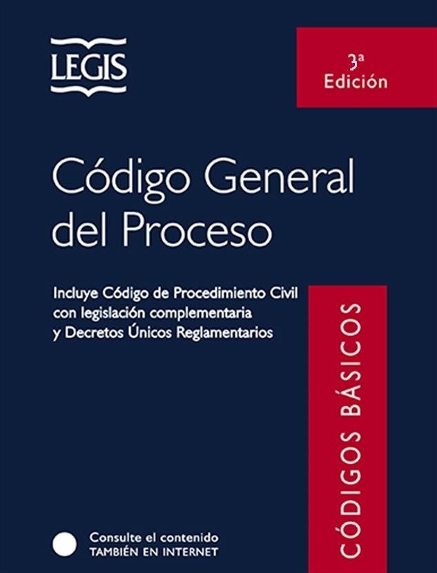 Resultado de imagen para Código General del Proceso. - 3a edición