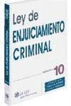código ley de enjuiciamiento criminal 2010 + agenda(libro )