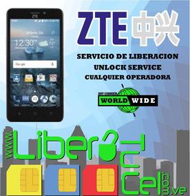 Codigo Liberacion Zte Z835 Z812 Z831 Y Otros