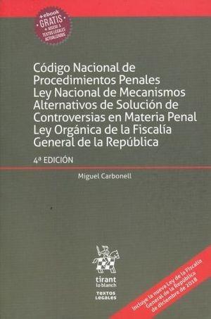 código nacional de procedimientos penales 4 ed. m. carbonell