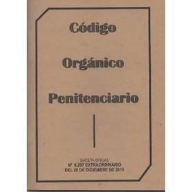Codigo Organico Penitenciario   Mayor Y Detal