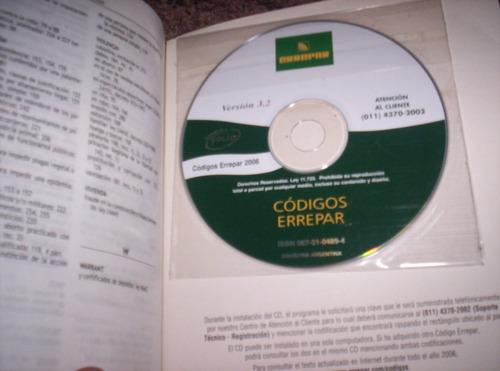 código penal. 2006. 5ª edición. errepar. con cd. excelente!!