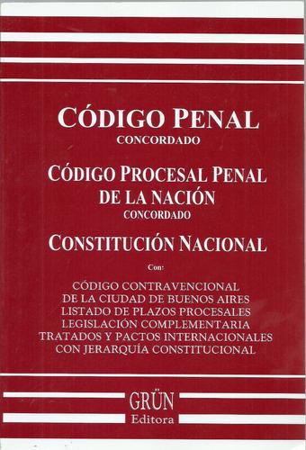 codigo penal procesal penal contravencional constitucio 2017