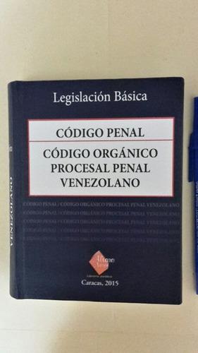 codigo penal y codigo organiico procesal penal. (juntos)