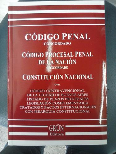 codigo penal y procesal penal concordado