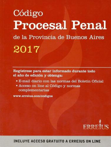 código procesal penal provincia de buenos aires 2017 errepar
