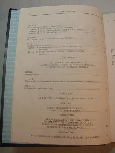 codigo sanitario 2001. republica de chile
