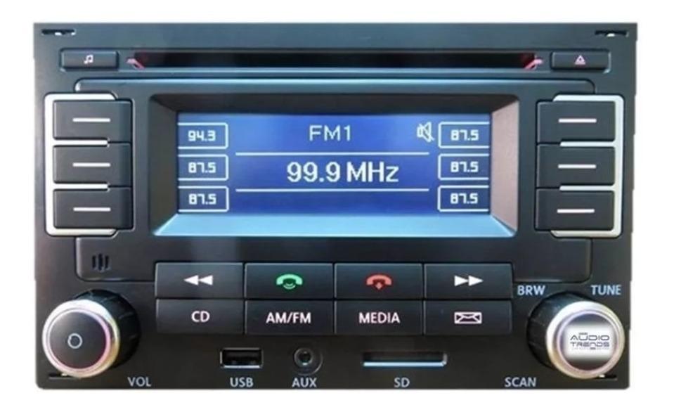 VOLKSWAGEN Jetta Radio códigos por serie en minutos