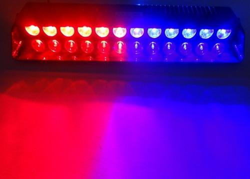 códigos luces led policía estrobos flashing king s12