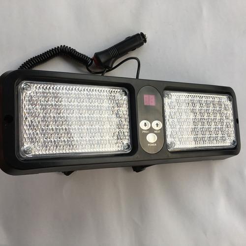 códigos luces led policía estrobos para visera