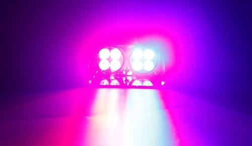 códigos luces policía estrobos flashing king s8