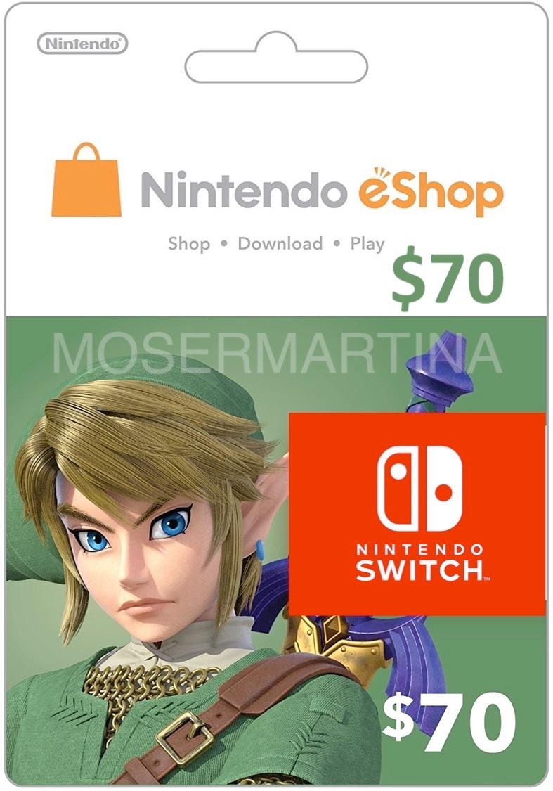 Codigos Tarjeta Nintendo Eshop 70 Para Switch 3ds Y Wiiu 3 708
