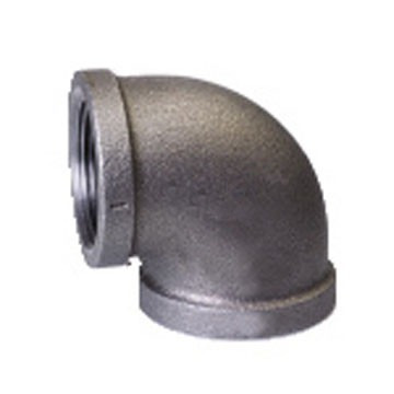 codo de 90º de 1  hierro galvanizado reforzado